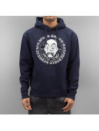 Joker Sweat à capuche Circle Clown bleu