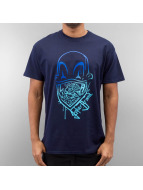 Joker T-Shirt Clown Brand blau