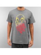 Joker T-Shirt Clown Brand grau