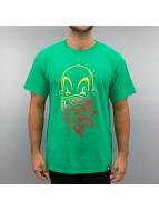 Joker T-Shirt Clown Brand grün