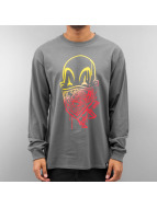 Joker T-Shirt manches longues Clown Brand gris
