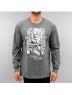 Joker T-Shirt manches longues X Rumble gris