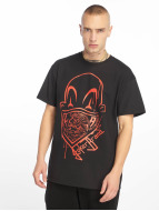 Joker T-Shirt Clown Brand noir