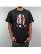 Joker T-Shirt Serape Clown noir