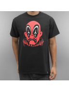 Joker T-Shirt Deadpool Clown noir