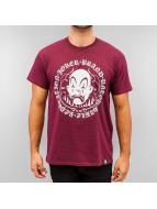 Joker t-shirt Circle Clown rood