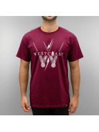 Joker T-Shirt Westcoast rot
