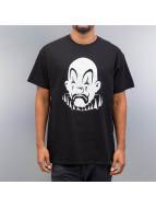 Joker T-Shirt Basic Clown schwarz