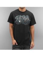 Joker T-Shirt Script schwarz