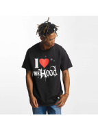 Joker T-Shirt Hood Love schwarz