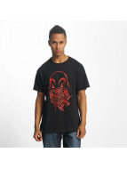 Joker T-Shirt Clown Brand schwarz