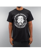 Joker T-shirt Circle Clown svart
