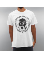 Joker T-Shirt Circle Clown weiß