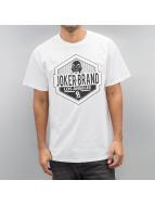 Joker T-Shirt LA CA weiß