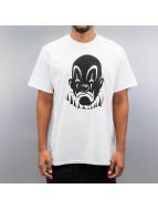 Joker T-Shirt Basic Clown weiß
