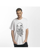 Joker T-Shirt Clown Brand white