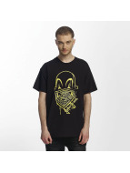 Joker t-shirt Clown Brand zwart