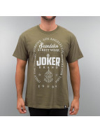 Joker T-shirtar Scandalos oliv