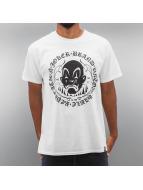 Joker T-skjorter Circle Clown hvit