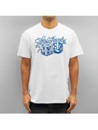 Joker T-skjorter Dice hvit