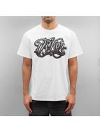 Joker T-skjorter Script hvit