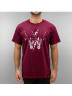 Westcoast T-Shirt Maroon...
