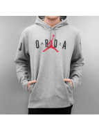 Jordan Hoodies Jumpman Brushed Graphic PO 2 grå