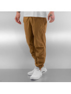 Jordan Kumaş pantolonlar City kahverengi