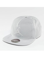 Jordan Snapback Caps Jumpman Perforated harmaa