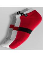 Jordan Socks Dri-Fit (3 Pair) No-Show red
