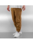 Jordan Spodnie wizytowe City brazowy