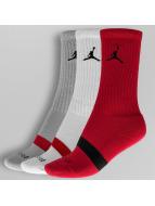 Jordan Strumpor Dri-Fit (3 Pair) röd
