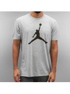 Jordan T-paidat The Iconic Jumpman harmaa