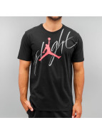 Jordan T-Shirt Flight noir