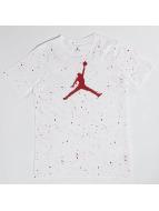 Jordan t-shirt Speckle Print wit