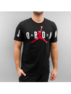 Jordan t-shirt Stretched zwart