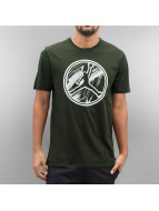 Jordan T-Shirts AJ 8 Brand zeytin yeşili