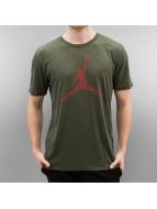 Jordan T-Shirts The Iconic Jumpman zeytin yeşili