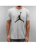 Jordan T-skjorter The Iconic Jumpman grå