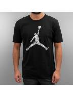 Jordan T-skjorter Jumpman Hands Down svart