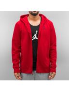 Jordan Zip Hoodie Flight red