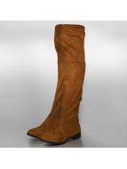 Jumex Çizmeler Overknees kahverengi