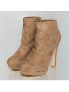 Jumex Čižmy/členkové čižmy High Heels béžová