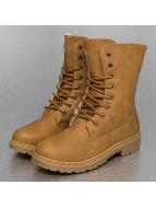 Jumex Ботинки Fur Basic коричневый