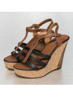 Jumex Туфли на каблуках Summer Retro черный