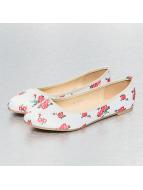 Jumex Ballerinas Summer Flower beige