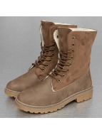 Jumex Boots Winter Fur khaki