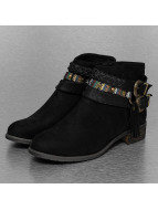 Chain Ethno Booties Blac...