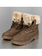 Jumex Chaussures montantes Fur Hike kaki