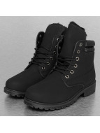 Jumex Chaussures montantes Basic noir